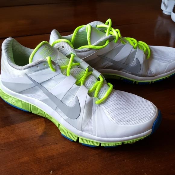best loved a346e df0e2 Men's Nike Free 5.0 Running Shoes White Gray 11.5
